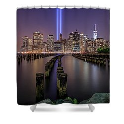 Shower Curtain featuring the photograph Never 4 Get  by Anthony Fields