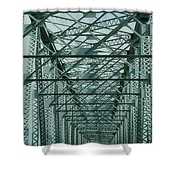 Never Ending Bridge Shower Curtain