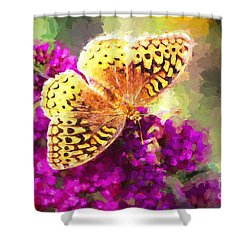 Never Hide Your Wings Shower Curtain