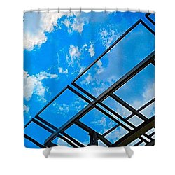 Never Tell Me The #sky Is The Limit Shower Curtain