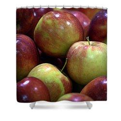 New Apples Shower Curtain by Joseph Skompski