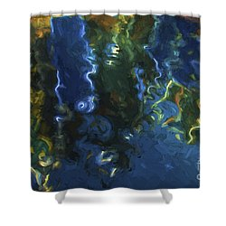 New Bedford Waterfront IIi Shower Curtain by David Gordon