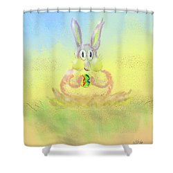 New Beginnings Shower Curtain by Lois Bryan