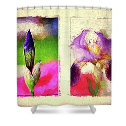 New Birth Shower Curtain