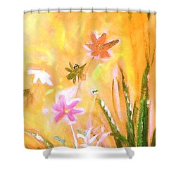 New Daisies Shower Curtain