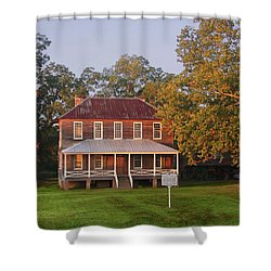 New Dawn On Old House Shower Curtain