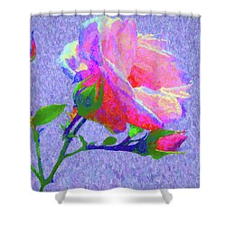 New Dawn Painterly Shower Curtain