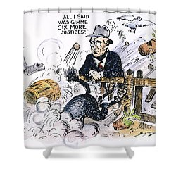 New Deal: Supreme Court Shower Curtain by Granger