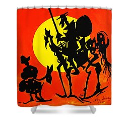 New Don Quixote Shower Curtain