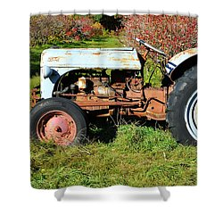 New England Ford Shower Curtain