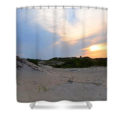 New England Paradise  Shower Curtain