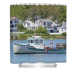 New England Summer Shower Curtain
