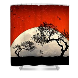 New Growth New Hope Shower Curtain by Holly Kempe