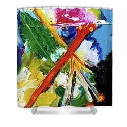 New Island #137 Shower Curtain by Donald k Hall
