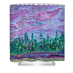 New Jersey Colors Shower Curtain