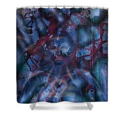 New Metamorphosis Shower Curtain