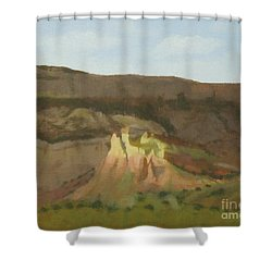 New Mexican Statues Shower Curtain