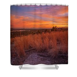New Mexican Sunset Shower Curtain