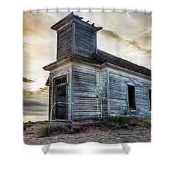 New Mexico Church #3 Shower Curtain