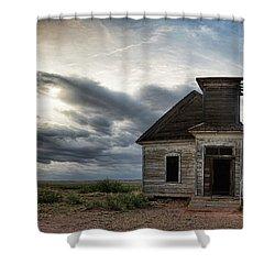 New Mexico Church Shower Curtain