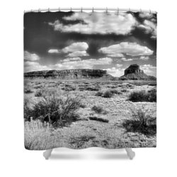 New Mexico Shower Curtain by Jim Walls PhotoArtist