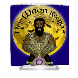 New Moon Keepers Shower Curtain