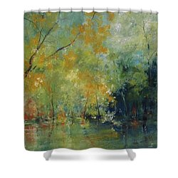 New Morning #4 Shower Curtain