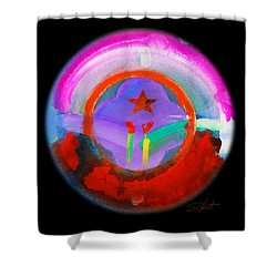 New Morning Shower Curtain by Charles Stuart