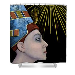 New Nefertiti Shower Curtain