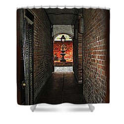 New Orleans Alley Shower Curtain