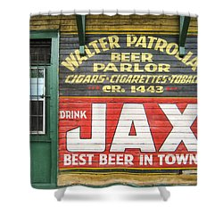 New Orleans Beer Parlor Shower Curtain