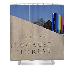 New Orleans Holocaust Memorial Shower Curtain