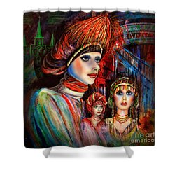 New Orleans Live Mannequins Shower Curtain by Walt Foegelle