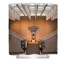 New Orleans Museum Of Art Lobby Shower Curtain