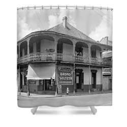 New Orleans Pharmacy Shower Curtain by The Granger Collection