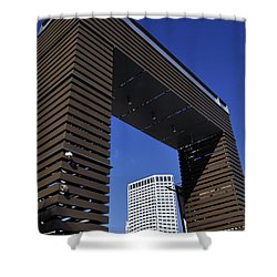 New Orleans Riverwalk Shower Curtain