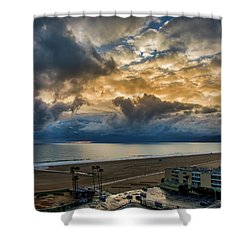 New Sky After The Rain Shower Curtain