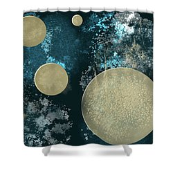 New Space   Shower Curtain