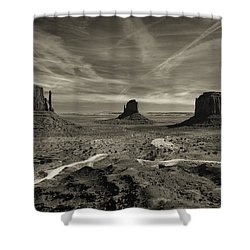 Monument Valley 9 Shower Curtain