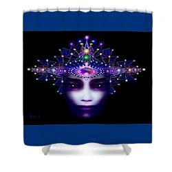 Celestial  Beauty Shower Curtain
