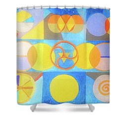Geometrica 1 Shower Curtain