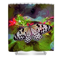 New World Coming To Life Shower Curtain