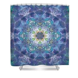 New World Dream Catcher Shower Curtain by Maria Watt
