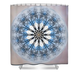 New Year Mandala - Shower Curtain