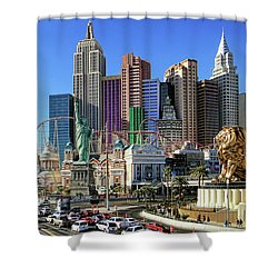 New York , New York Shower Curtain