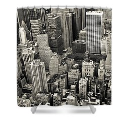 New York 1 Shower Curtain