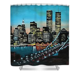 New York 910 Shower Curtain