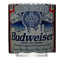 New York Bud Shower Curtain by Rob Hans