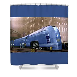 New York Central Shower Curtain