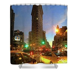 New York City Life Shower Curtain